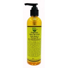 Organic SHEA BUTTER  Bath, Body & Massage Oil
