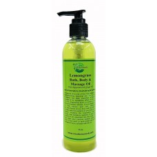Lemongrass Bath, Body & Massage Body Oil