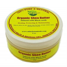 Organic Shea Butter  Infused with Black Seed