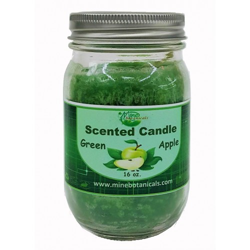 Green Apple Scented Candle