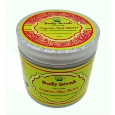 Body Scrub Infused with Organic Shea Butter