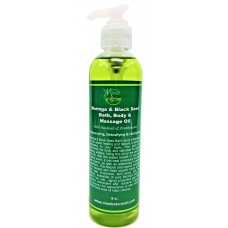 Moringa & Black Seed Bath, Body & Massage Oil